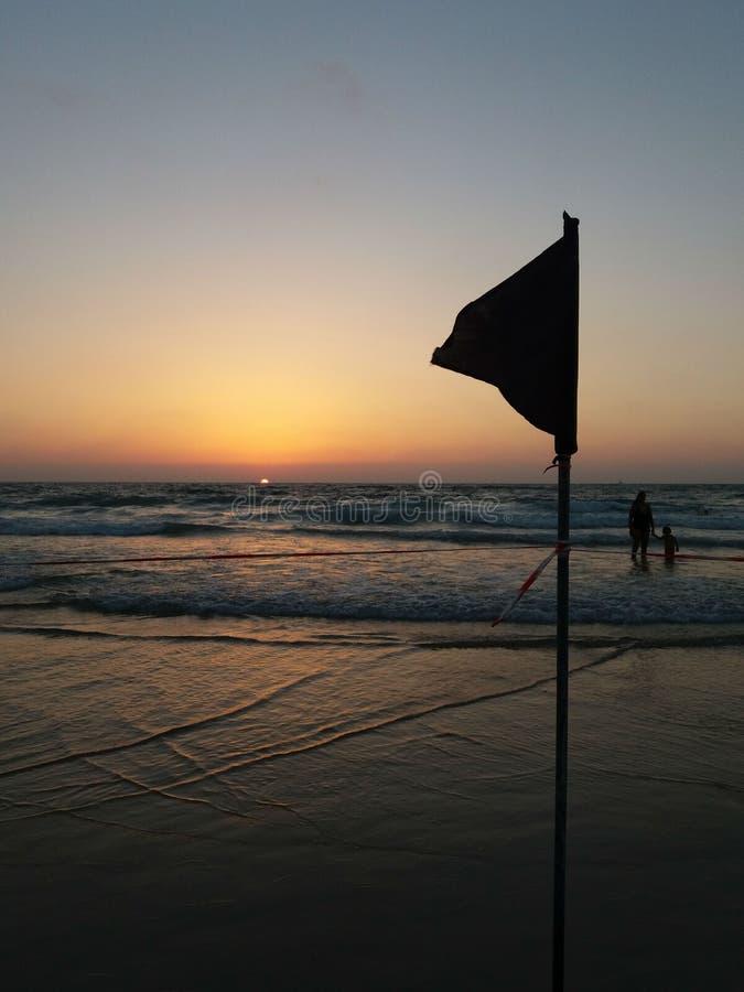 Bandiera nera fotografia stock libera da diritti