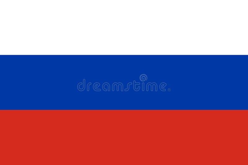 Bandiera russa ufficiale royalty illustrazione gratis