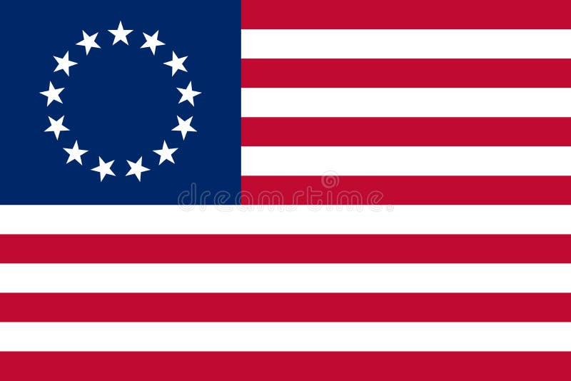 Bandiera storica di vettore royalty illustrazione gratis