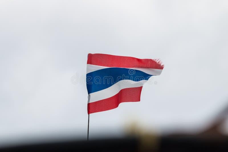 Bandiera tailandese fotografie stock