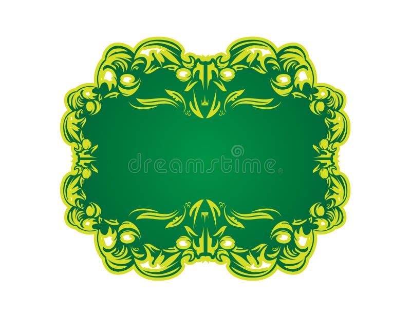 Download Bandiera verde illustrazione vettoriale. Illustrazione di giorno - 7313794