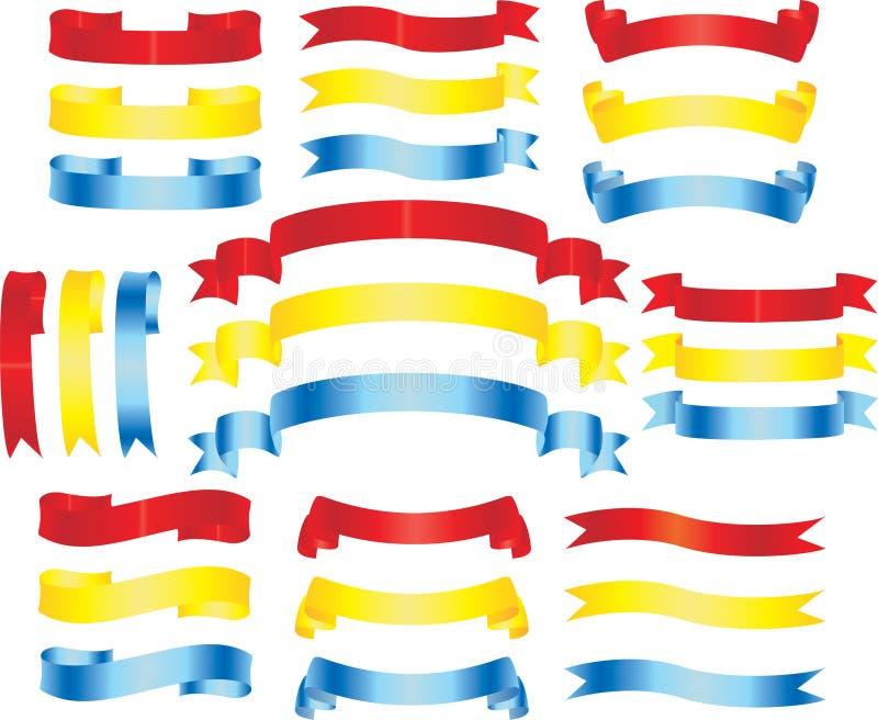 Bandiere illustrazione di stock