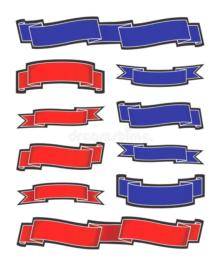 Bandiere royalty illustrazione gratis