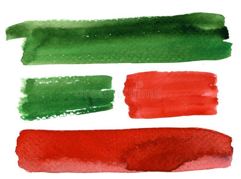Bandiere della priorità bassa illustrazione vettoriale