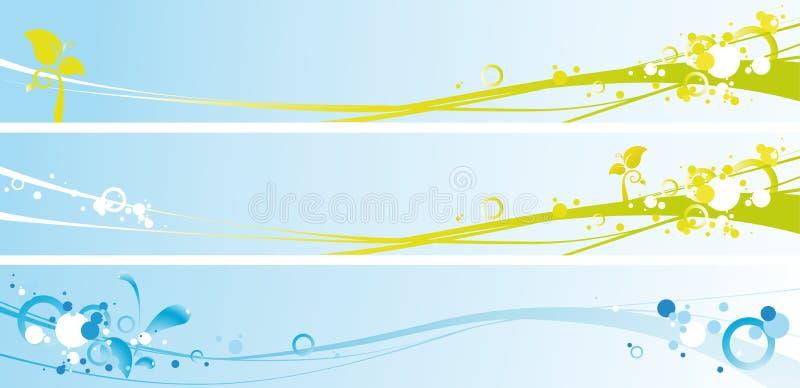 Download Bandiere della sorgente illustrazione vettoriale. Immagine di azione - 12259410