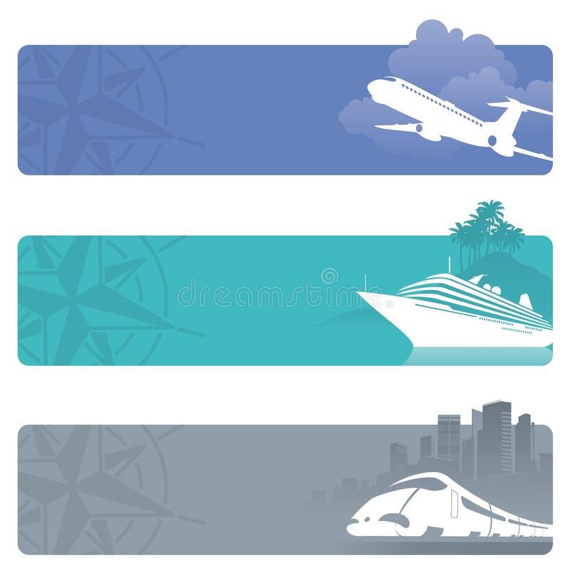 Bandiere di corsa illustrazione vettoriale