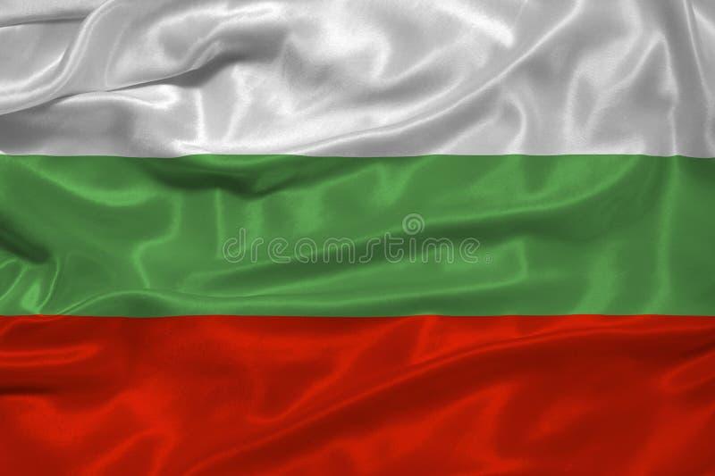 Bandierina 3 della Bulgaria illustrazione vettoriale