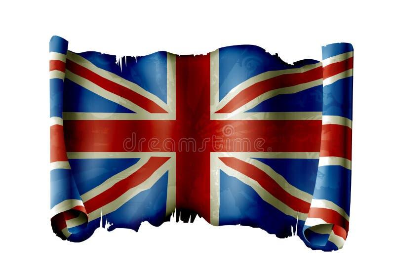 Bandierina BRITANNICA illustrazione di stock