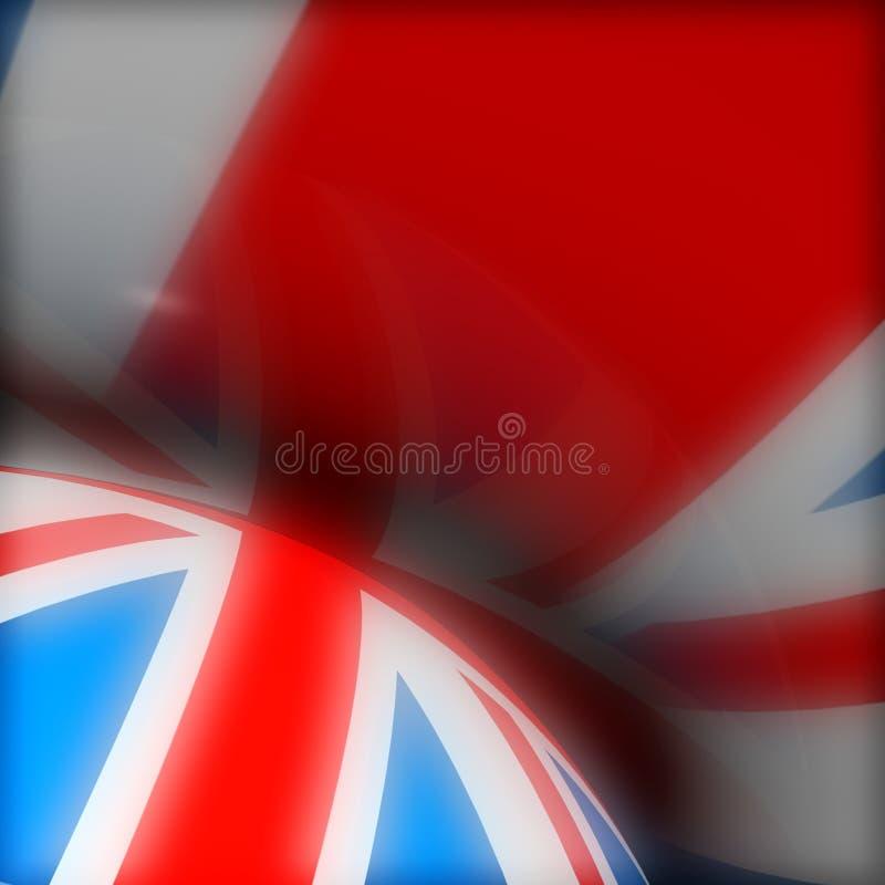 Bandierina BRITANNICA royalty illustrazione gratis