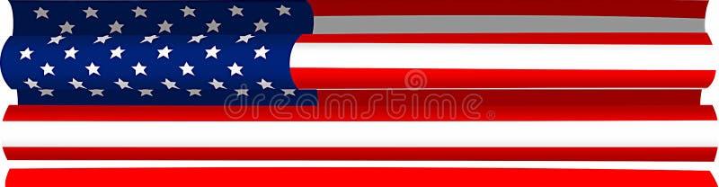 Download Bandierina coperta illustrazione di stock. Illustrazione di libertà - 3887347
