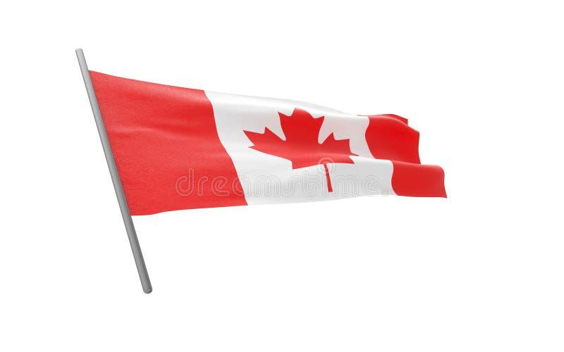 Bandierina del Canada fotografie stock