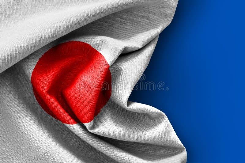 Bandierina del Giappone immagine stock libera da diritti