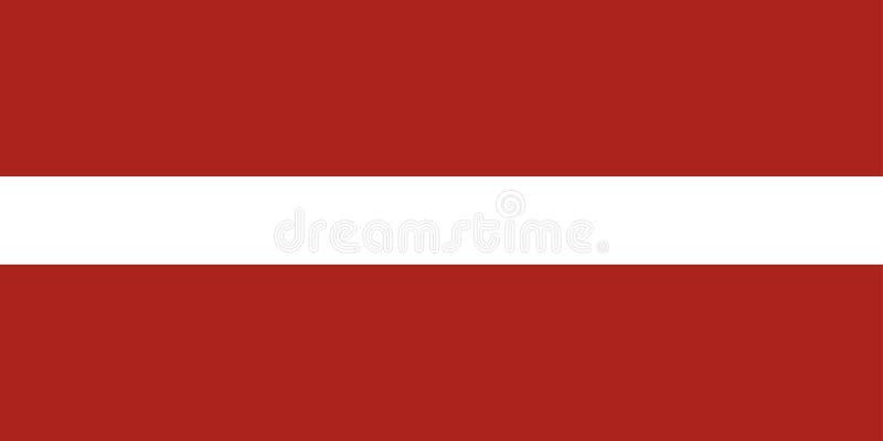 Bandierina del Latvia royalty illustrazione gratis