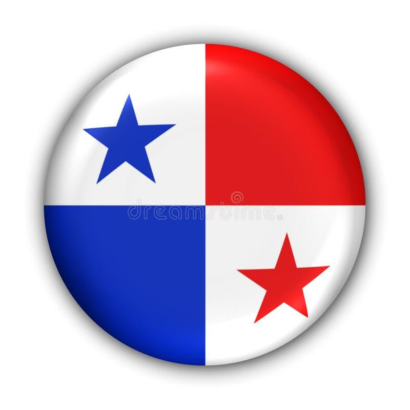 Bandierina del Panama illustrazione di stock