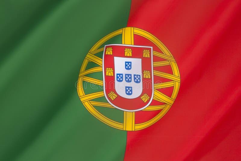 Bandierina del Portogallo fotografie stock