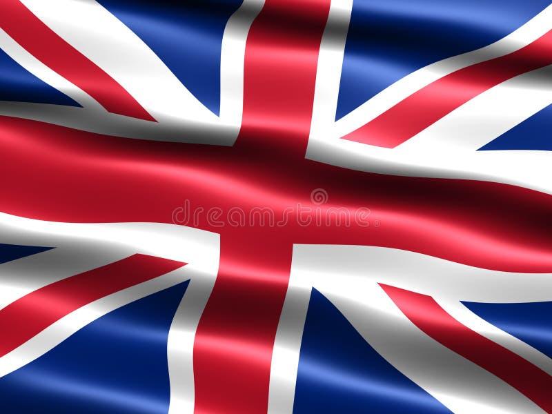 Bandierina del Regno Unito illustrazione vettoriale