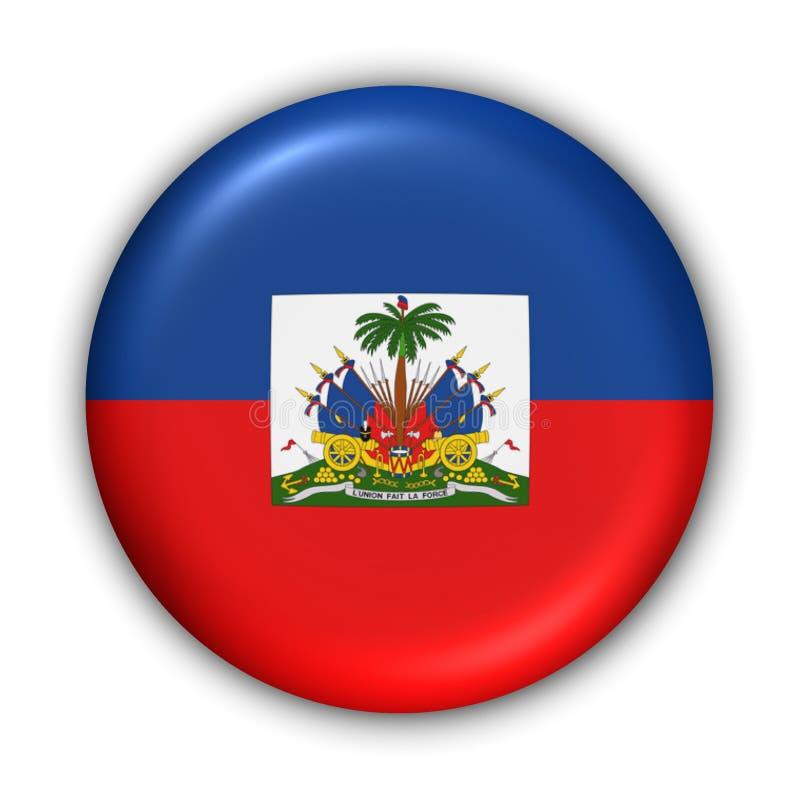 Bandierina dell'Haiti illustrazione di stock