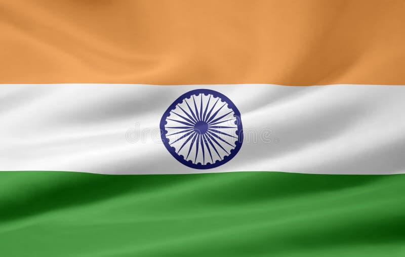 Bandierina dell'India royalty illustrazione gratis