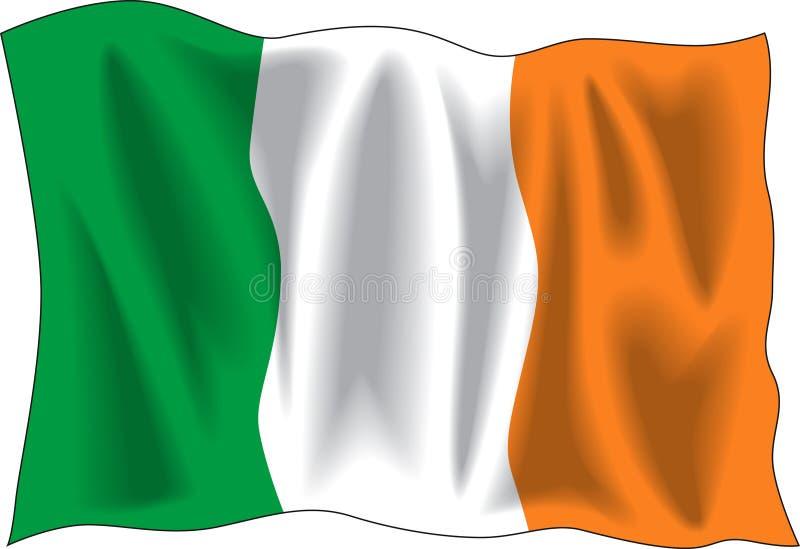 Bandierina dell'Irlanda illustrazione di stock