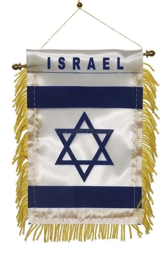 Bandierina dell'Israele fotografia stock libera da diritti