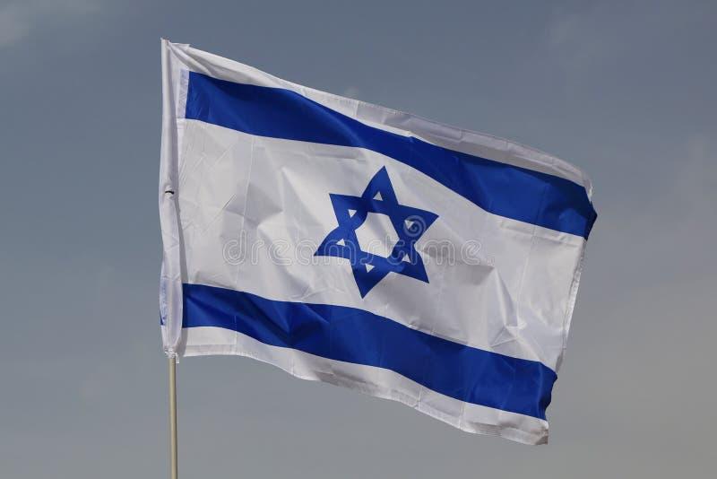 Bandierina dell'Israele immagine stock libera da diritti
