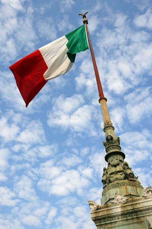 Bandierina dell'Italia immagine stock