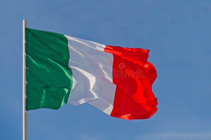 Bandierina dell'Italia fotografia stock libera da diritti