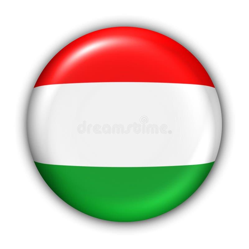 Bandierina dell'Ungheria illustrazione vettoriale