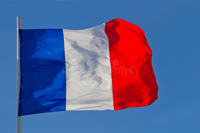 Bandierina della Francia immagini stock libere da diritti