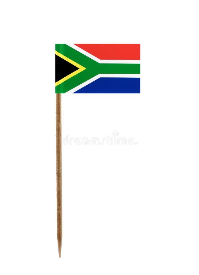 Bandierina della Sudafrica immagini stock libere da diritti
