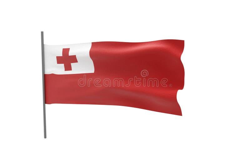 Bandierina della Tonga fotografia stock