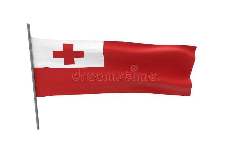 Bandierina della Tonga fotografie stock