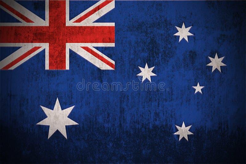 Bandierina di Grunge dell'Australia