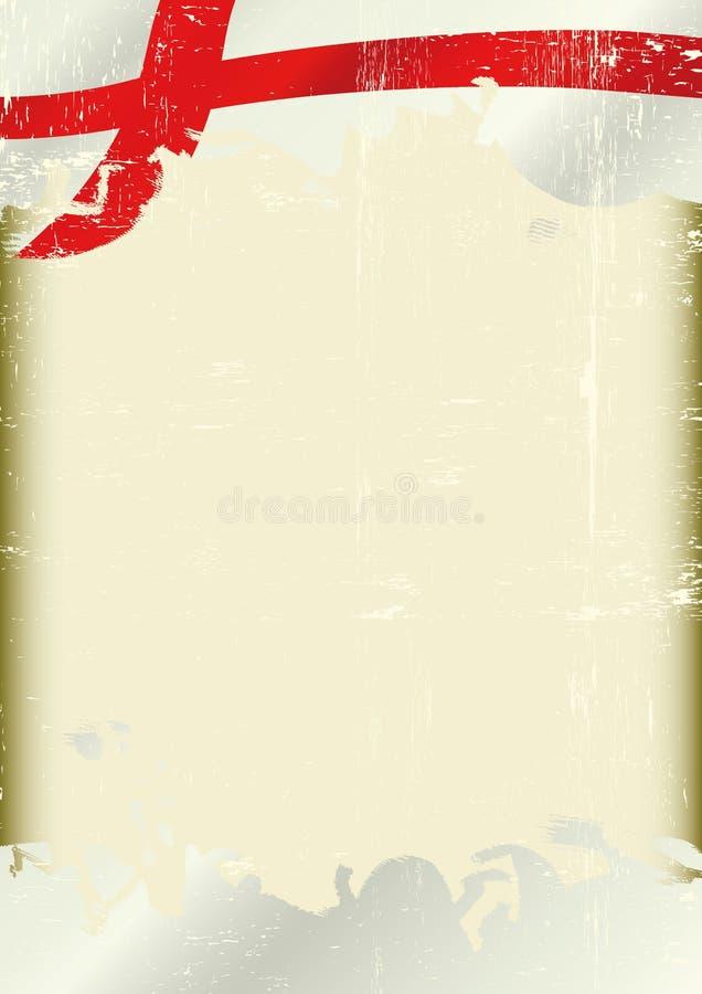 Bandierina di Grunge Inghilterra royalty illustrazione gratis