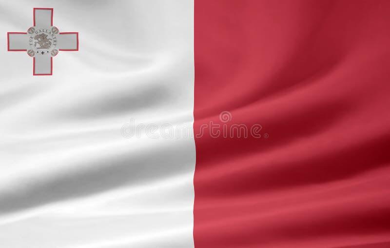Bandierina di Malta illustrazione vettoriale