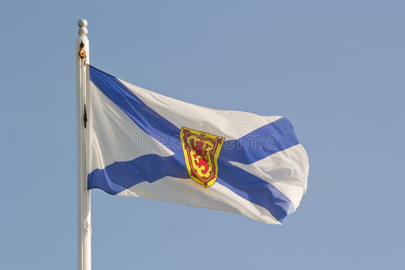 Bandierina di Nuova Scozia immagine stock libera da diritti