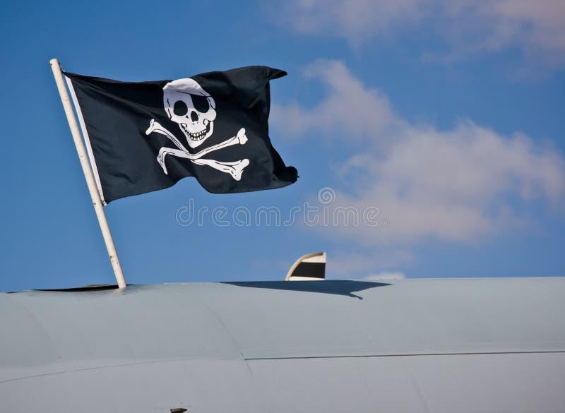 Bandierina di pirati immagini stock
