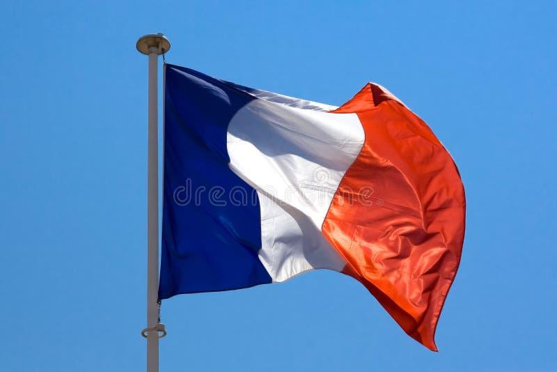 Bandierina francese fotografia stock libera da diritti