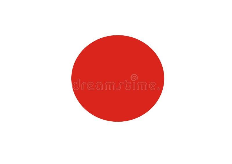 Bandierina Giappone fotografia stock