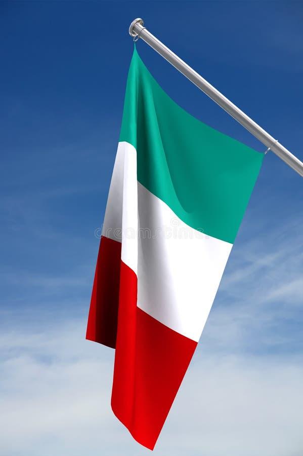 Bandierina italiana   illustrazione di stock