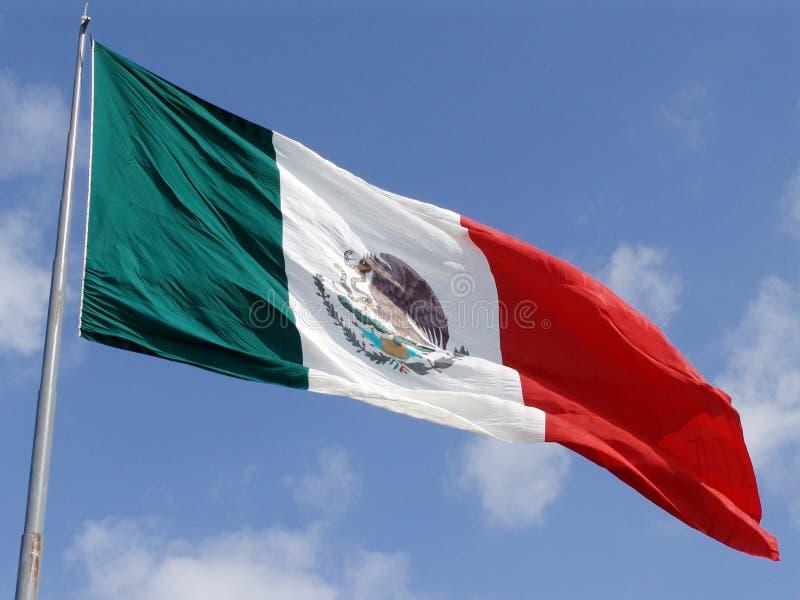 Bandierina messicana fotografie stock