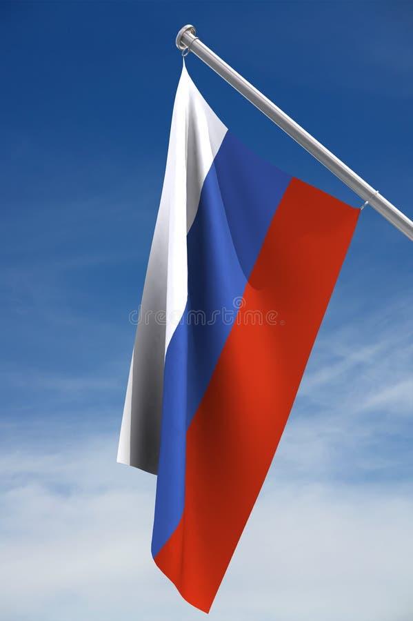 Bandierina russa royalty illustrazione gratis
