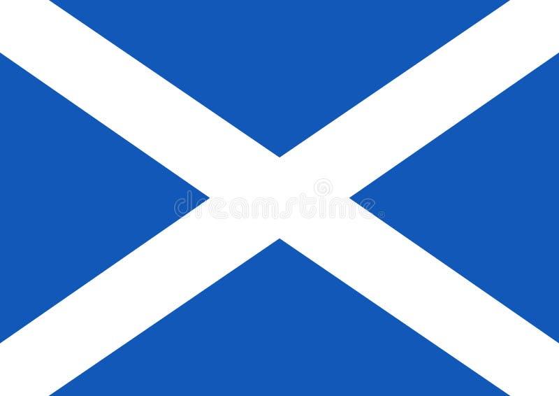 Bandierina scozzese illustrazione vettoriale