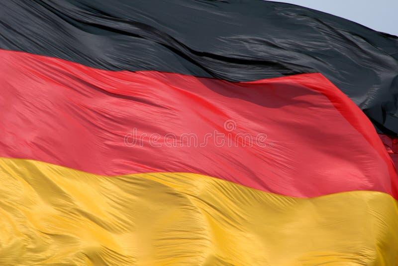 Bandierina tedesca immagini stock