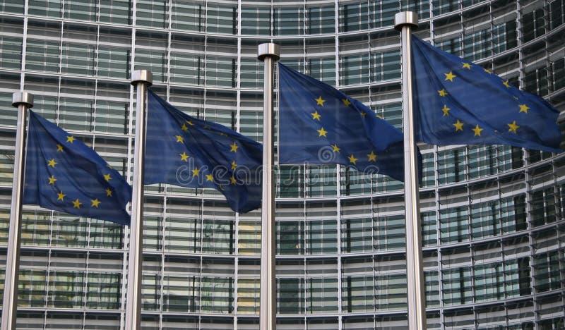 Download Bandierine Europee A Bruxelles Immagine Stock - Immagine di governo, legge: 3882111