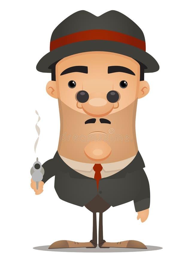 Bandit illustration de vecteur