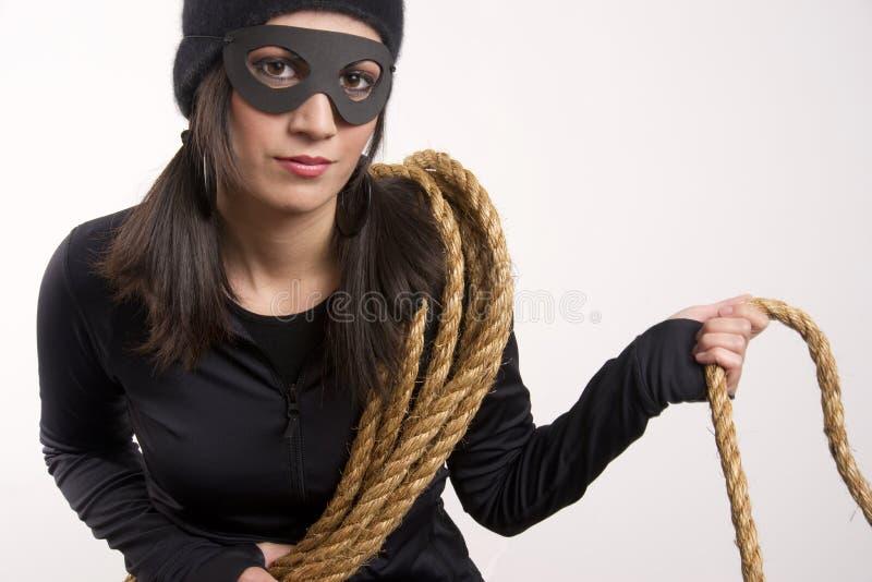 Bandit anarchique photo stock