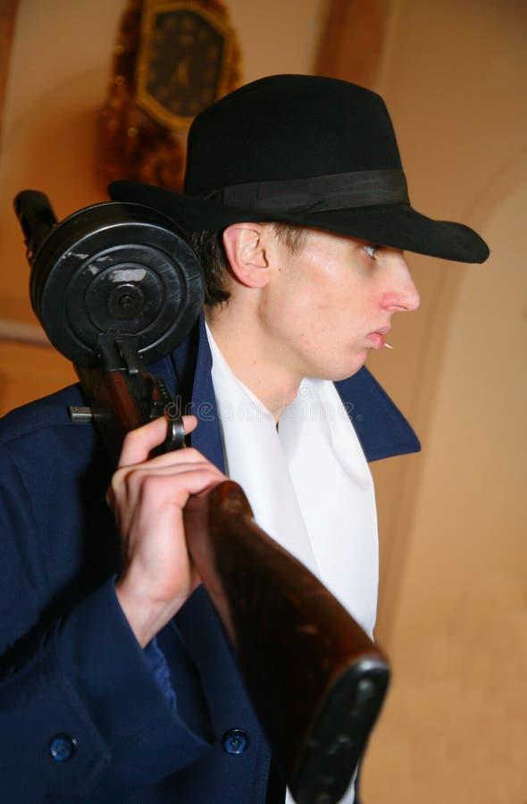 Bandit de Chicago italien, Mafia juive des années 1920, années des années 1930 photographie stock