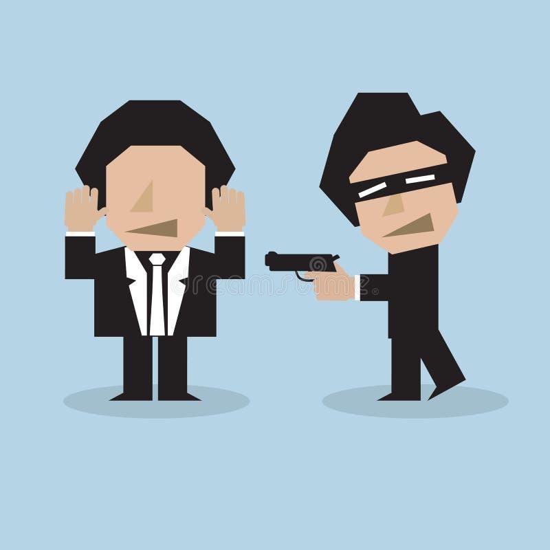Download Bandit stock vector. Image of background, robbery, cartoon - 39507644