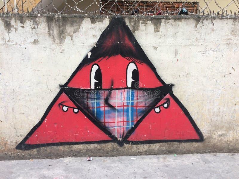 Bandito di Graffitti fotografie stock libere da diritti